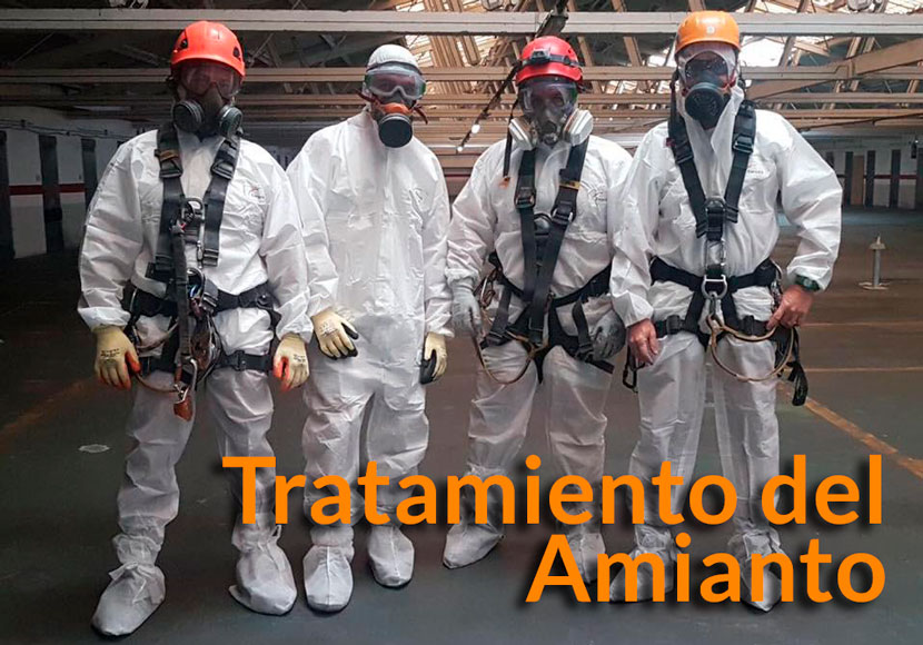 tratamiento del amianto