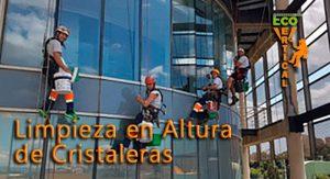 """Trabajo de Limpieza en Altura Edificio Televisión Valenciana """"Apunt"""""""